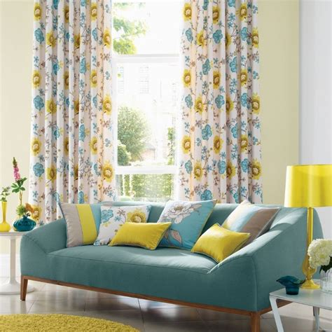 Teal And Yellow Curtains 17 Best Images About Wilde Fabrics On Pinterest The Smalls Modern Houses And Cushion
