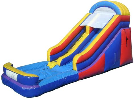 best backyard inflatable water slides long island party rentals