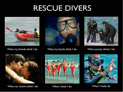 Scuba Diving Meme - image 270695 what people think i do what i really