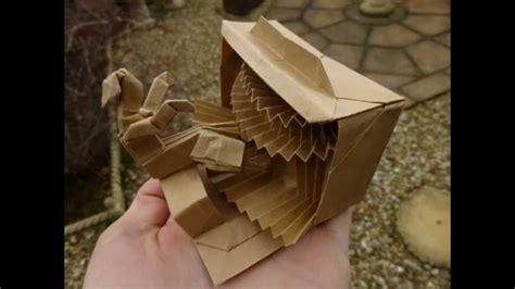 Robert J Lang Origami - origami organist tutorial robert j lang