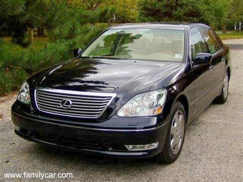 lexus car 2004 left front 2004 lexus ls430 car photo lexus car pictures