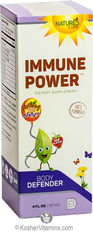Shop For The Cure Duwop Power 2 by Natures Cure Kosher Children S Immune Power Liquid Orange