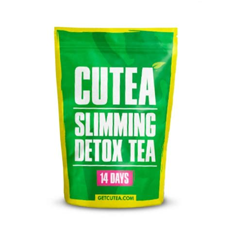 Slimming Detox Tea Testimoni by Cutea Organic Slimming 14 Day Detox Tea Bulu Box