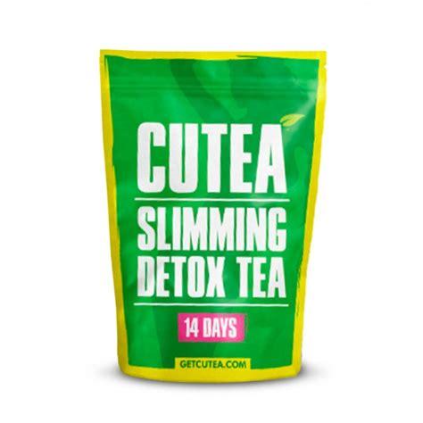 Slim Tea Detox 14 Days by Cutea Organic Slimming 14 Day Detox Tea Bulu Box