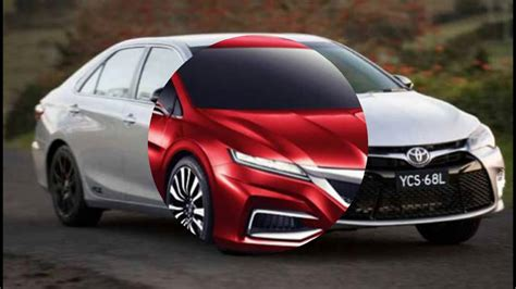 Toyota Camry Model Changes by 2018 Toyota Camry Se Concept Release Date Redesign Changes