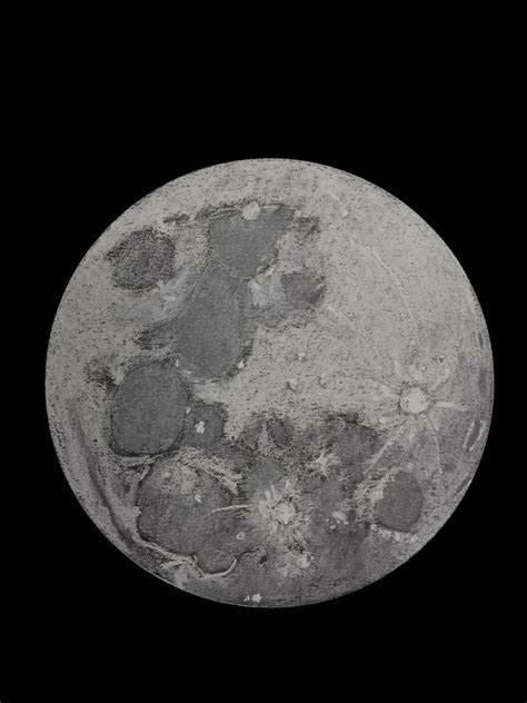 Sketches Moon by Rabbit On The Moon Astronomy Sketch Of The Day