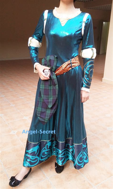 Set Dress E Ori Baenetta p160 merida gown brave costume set dress and belt 183 secret 183 store powered by