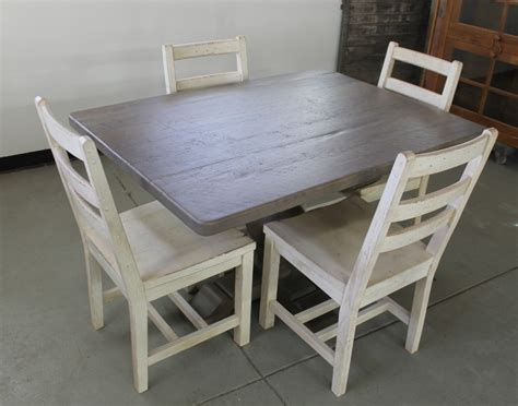 Wood Dining Table With White Chairs Dining Room Fabulous Small Dining Room Design Ideas With Square Brown Driftwood Dining