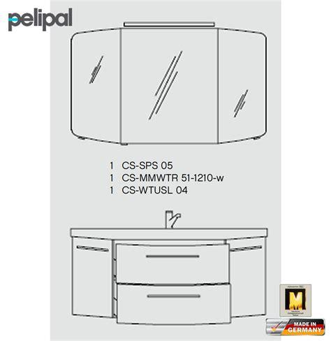 spiegelschrank cs sps 05 pelipal cassca badm 246 bel set 120 cm v2 2 impuls home