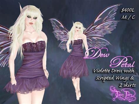 second marketplace fancy dew petal dress in