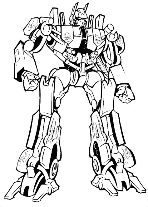 optimus prime coloring page transformers optimus prime printable coloring page