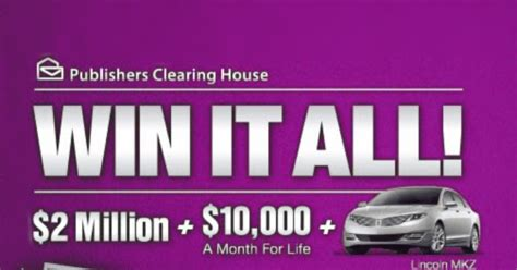 Free House Sweepstakes - enter the publishers clearing house sweepstakes online for html autos weblog