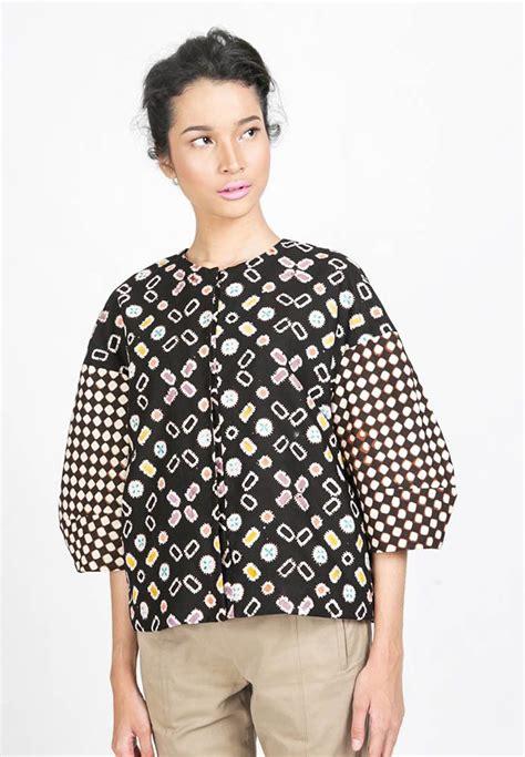 Blouse Atasan Kantor Tunic Batik 13 1865 best inspiring style batiks tenun images on batik dress batik