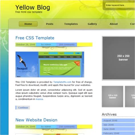 Yellow Pages Website Template Free Download Yellow Free Website Templates For Free Download Yellow Pages Website Template Free