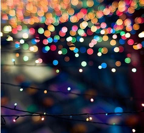 blurry lights basic pinterest