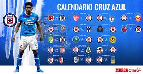 Calendario De Todas Las Ligas De Futbol Conoce El Calendario De Azul Para El Apertura 2017