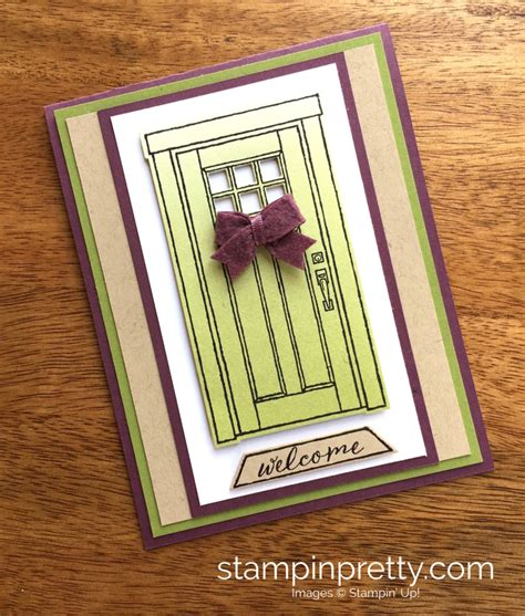 cards at home a welcoming new home card using at home with you