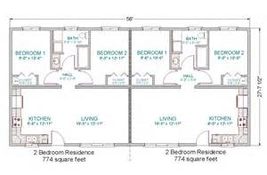 Duplex House Floor Plans House Design Duplex House Plans