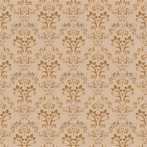 damask pattern cdr seamless floral background graphicriver
