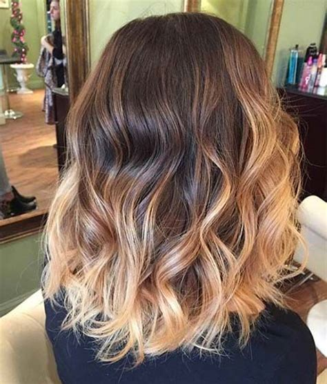 medium length hair with ombre highlights 25 best shoulder length balayage ideas on pinterest