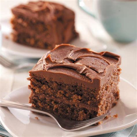 chocolate cake with cocoa frosting recipe taste of home