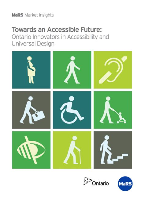 Accessibility Design Guidelines Ontario | towards an accessible future ontario innovators in
