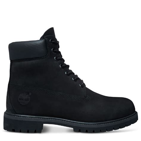 timberland black boots for men s icon 6 inch premium boot black timberland
