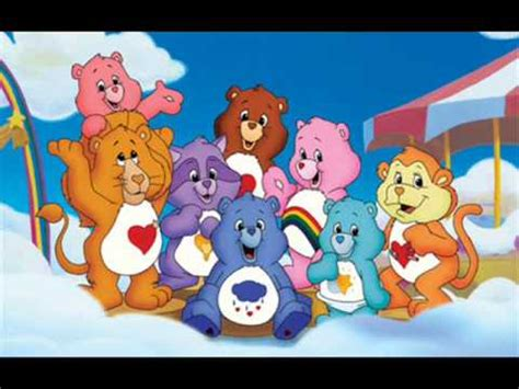 Theme Line Care Bear | care bears theme song youtube
