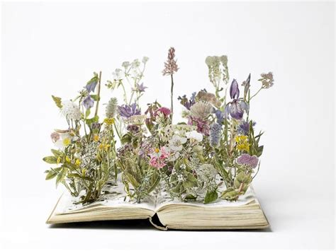 libro the flower year a 25 of the most incredibly beautiful book sculptures ever