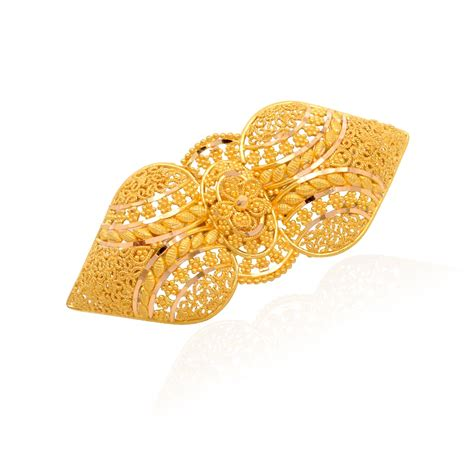 Gold Hair Accessories For Indian Weddings Best