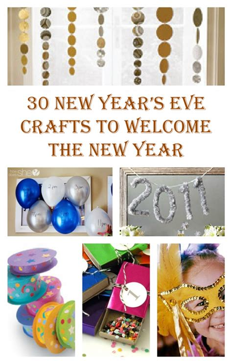 new years craft for new year s crafts