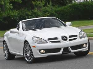 Mercedes White Mercedes Slk300 White Edition 2010 Car