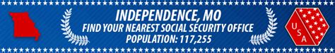 Missouri Social Security Office by Independence Mo Social Security Offices Ssa Offices In