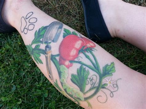 tomato tattoo tomato plant in memory of my tattoos