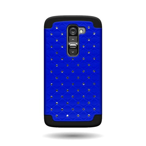 Softcase Lg E440l411 soft dual layer bling hybrid phone cover
