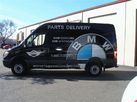 bmw sprinter bmw graphics for a sprinter concord ca