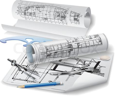 architecture drawing tool architect tools clipart 23