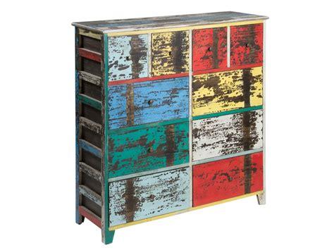 muebles de colores c 243 moda vintage de colores 10 cajones c 243 moda decapada