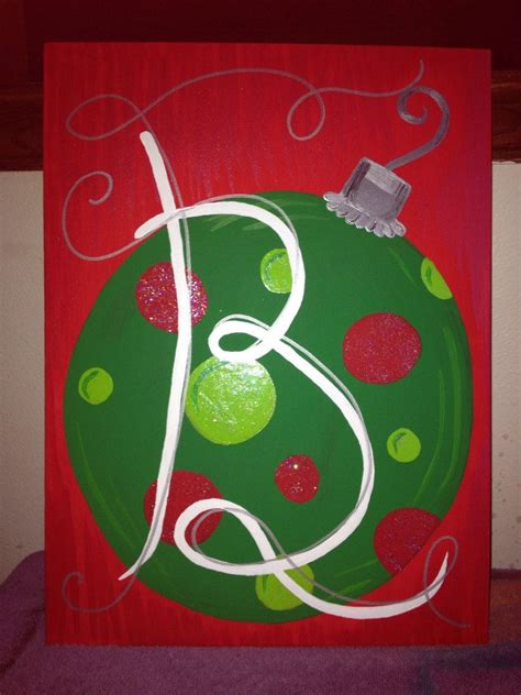 10 best painting images on pinterest christmas crafts