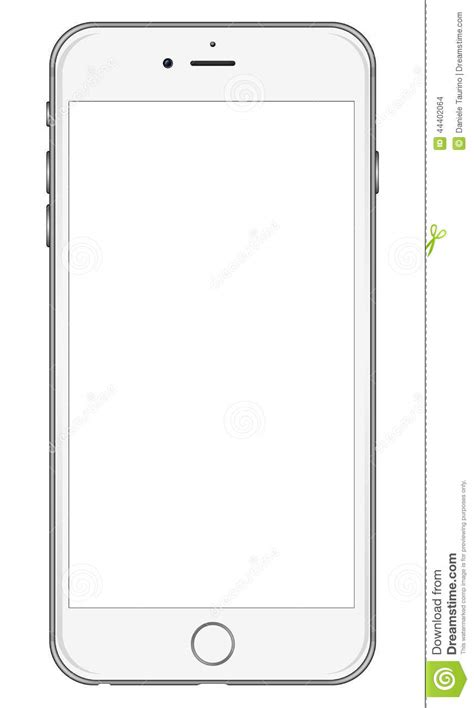 Iphone X Coloring Page by New Apple Iphone 6 White Editorial Stock Image Image