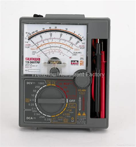 Multitester Analog Sunwa analog multimeter yx 360trf sunwa china manufacturer