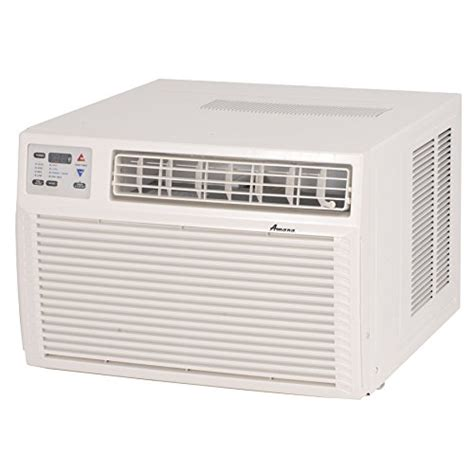 Amana AH123G35AX Window Air Conditioner with 11600 BTU Cool Heat Pump with Electric Heat Backup