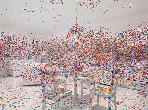 Kitchen Cabinets New York by Quot Dotty Quot Japanese Artist Yayoi Kusama Brings Obliteration