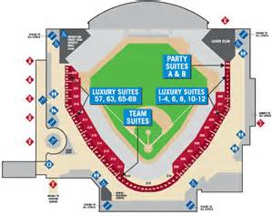 arizona diamondbacks stadium map suites information arizona diamondbacks