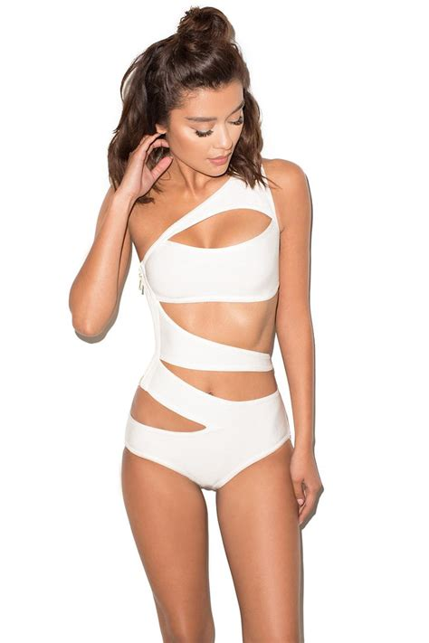 One Shoulder One Swimwear 1000 ideas about one shoulder on