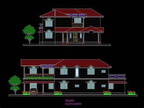 building elevation  cad design  cad blocks