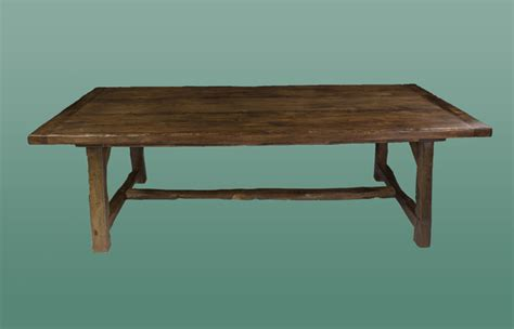 Handmade Oak Dining Table - handmade oak dining table from the oak pine barn hshire