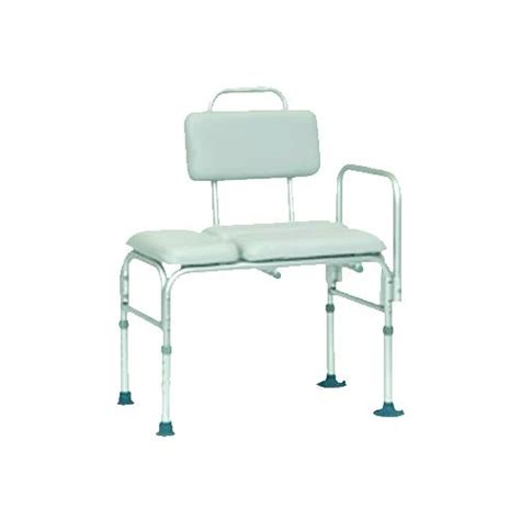 invacare transfer bench invacare padded transfer bench with suction feet