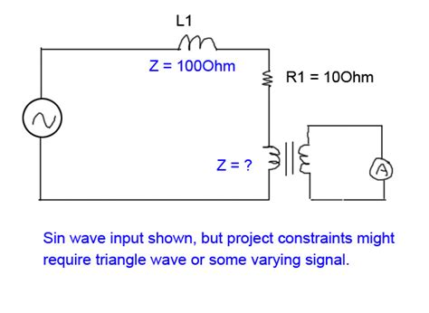 impedance transformer circuit reactance inductance impedance of a 1 1 transformer electrical engineering stack exchange