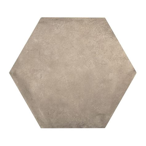 marazzi studio chelsea hexagon 16 in x 16 in glazed